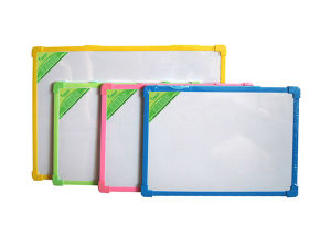 Magnetic/Non Magnetic Double Side White Board with Plastic Frame
