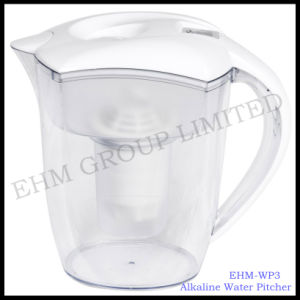 Latest Healthy Alkaline Mineral Water Pitcher /Filtration Jug (EHM-WP3) pictures & photos
