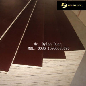 Hot Sale Shuttering Film Faced Plywood pictures & photos
