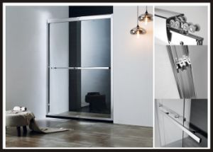 Aluminum Alloy Frame Double Sliding Shower Door / Shower Screen Shower Door pictures & photos