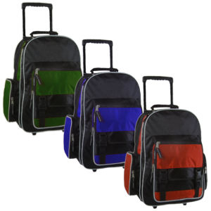 Trolley Duffel Bag for Sports, Travel, School and Promotion (UBT14205)