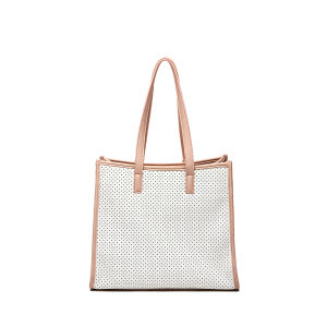 Designer DOT Big Shopping Tote Bags in Soft Leather (MBNO039040) pictures & photos
