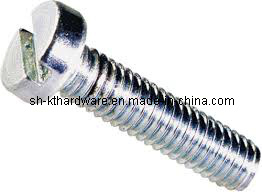 DIN84 Slotted Chesse Head Machine Screw