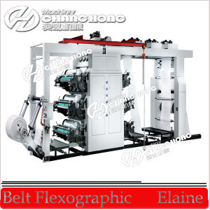 Chamber Dr. Blade Flexographic Printing Machine pictures & photos