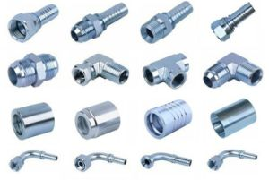 Made in China Carbon Steel Material Hose Fitting Connectors pictures & photos