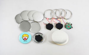 Diameter 50mm Flashing Button Badge pictures & photos