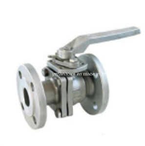 Three Piece Flange Ball Valve DIN Pn 40, Pn 16 pictures & photos