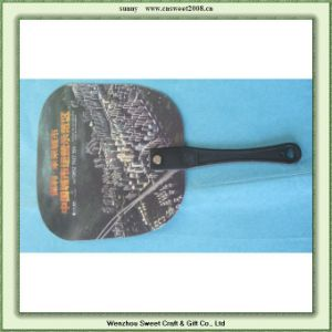 Promotional Mini Plastic Hand Fan pictures & photos