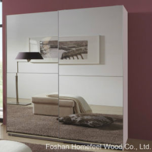 Bedroom Furniture Full Mirrored Sliding 2 Door Wardrobe (WB29) pictures & photos