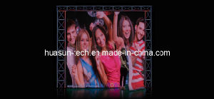 Mobile LED Video Cloth Fabric Curtain Dislay Screen for Rentals