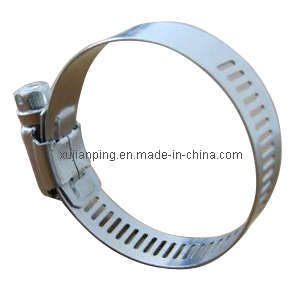 Ss304 American Type Hose Clamp 12.7mm pictures & photos
