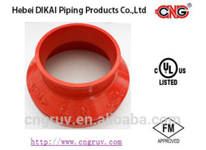 FM Approved Ductile Iron Grooved Couplings and Fittings Grooved Concentric Reducer pictures & photos