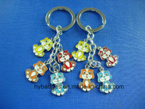 Lovely Panda Keychain, Enamel Metal Key Ring (GZHY-KA-021) pictures & photos