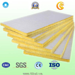 Heat Insulation Rockwool with Aluminum Foil for Building Material