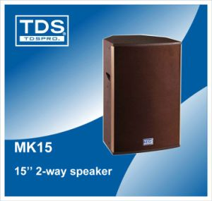 15inch Stage Speaker (MK15) pictures & photos