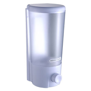 FLG Clear Choice Dispenser One Chamber Shampoo&Shower Dispenser, White pictures & photos