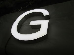 Chinese Professional Outdoor Brightness Stainless Steel Letter LED Sign pictures & photos