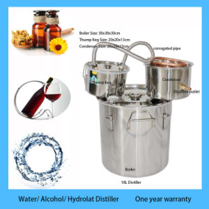 Alcohol Distiller Portable Home Used to Distill Brandy Moonshine Still pictures & photos