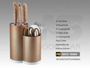 PP Handle Kitchen Knife (MS12-16066) pictures & photos