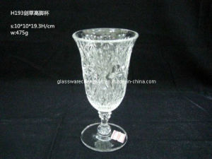 Machine-Made Crystal Wine Glass (B-WG10A) pictures & photos