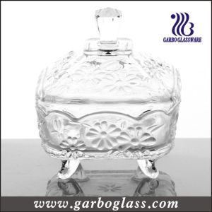 Decorative Glass Candy Jar& Glass Pot for Sweety (GB1818JH) pictures & photos