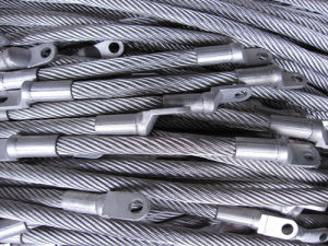 304/316 DIN3064 Stainless Steel Wire Rope 6 X 36ws + Iwrc/FC
