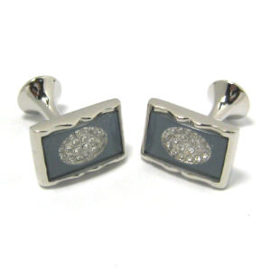 High Quality Fashion Metal Men′s Cufflinks (H0048) pictures & photos