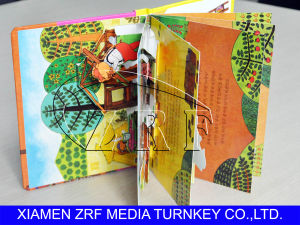 Fashion Printing Cartoon Folding Books pictures & photos