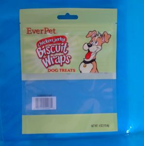 Plastic Pet Printing Food Bag (18*25CM*60UM) pictures & photos