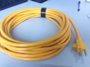 NEMA 5-15p W/ U Clamp, Sjt in AWG12, AWG14, and AWG16 Us Power Cord pictures & photos