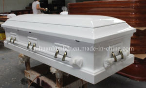 Wooden Coffin& Casket / Cakset for Funeral Product/ American Style Wooden Cakset pictures & photos