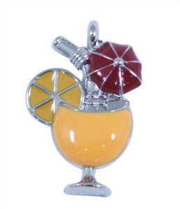 Metal Orange Juice New Design Pendant Scarf