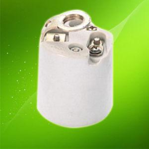 E27/E26 Porcelain Lamp Holder/Ceramics Lamp Holder Ce VDE (HC011B) pictures & photos