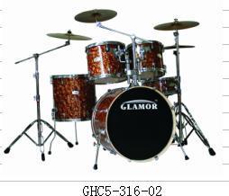 High Grade 5PCS Celluloid Drum Set (GHC5-316-02)