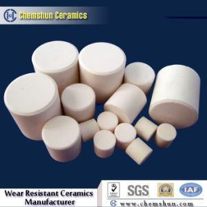 Alumina Ceramic Cylinder for Rubber Ceramic Composite Linings pictures & photos