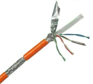 Pure Copper CAT6 SFTP Cable pictures & photos