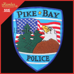 Police Patch Embroidery