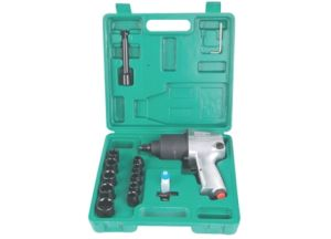 "1/2"" Series Twin Hammer Air Impact Wrench Kit (XT-1208D)"