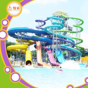 Fiberglass Water Slide Equipment for Water Amusement Park pictures & photos