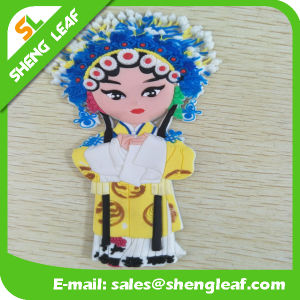 Chinese Opera People Fridge Magnet Rubber Soft Length 13cm pictures & photos