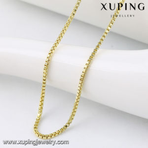 42982 Fashion Popular 14k Gold Plated Chain Jewelry Necklace in Metal Alloy pictures & photos