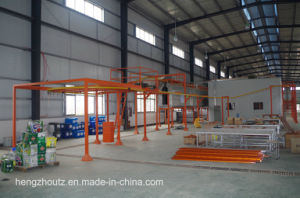 Automatic Electrostatic Powder Coating Production Line pictures & photos