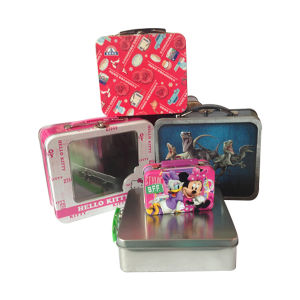 Double Lids Black Metal Gift Pen Box for Packing pictures & photos