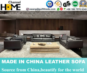 Best-Selling Commercial Geniune Leather Sofa for Living Room (HC3011) pictures & photos