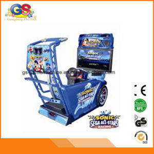 Coin Popular Amusement Arcade Sonic Car Racing Game Machines for Sale for Children pictures & photos