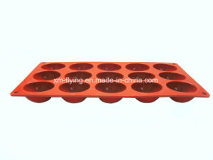 FDA Standard Custom Logo Embossing Silicone Chocolate Mould, Silicone Ice Mould pictures & photos