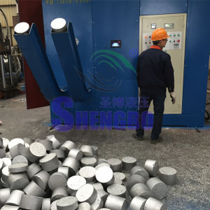 Horizontal Hydraulic Aluminum Chips Briquette Press Machine (CE) pictures & photos