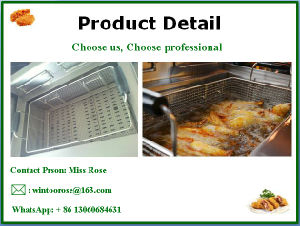 New Style Commercial Stainless Steel Standing Electric Fryer pictures & photos