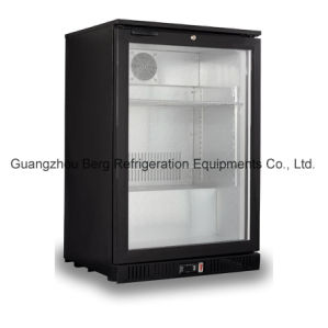 Back Bar Beer Cooler, 2 Door Beverage Glass Chiller-Bg208h pictures & photos