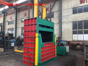 100ton Paper Vertical Baler Packing Machine pictures & photos